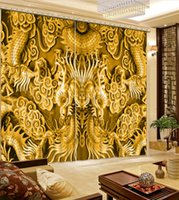 Wholesale door beads curtain resale online - Ssangyong play beads Luxury Blackout D Window Curtain For Living Room Bedroom Drapes Cortinas Customized size