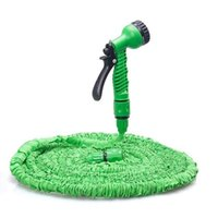Wholesale expandable hose for sale - Group buy 100FT Expandable Flexible Garden Magic Water Hose With Spray Nozzle Head Blue Green Pipe Watering Spray Gun for Car Garden