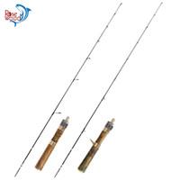 сигнальные фонари для удочек оптовых-2019 New Japan Fuji A Bracket Guides Ultra Light Fishing Rod 1.4m Wood Handle Spinning/Casting Rod Solid Tip Trout Bass