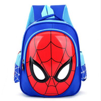 Wholesale baby boom for sale - Group buy 2019 fashion bag to years old children spider man scale boy baby boom bag bag in the army of kindergarten