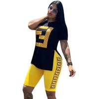 vestidos de verão de chiffon longo para mulheres venda por atacado-Novas Mulheres FF Completa Longo Fino Vestido De Luxo Designer de Verão Vestidos de Marca de Manga Curta Bodycon Saia FENDS Womens Clothing Party Dresses
