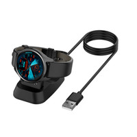 Wholesale fitbit charging cables for sale - Group buy Fast Charging Cradle Charger Dock Data Cable For Ticwatch C2 Smart Watch Charger Accessories Black For Ticwatch C2 Samrt Watch accessories