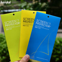 Tempered Glass Screen Protector Film Universal 3Colors Retail Packaging Box For iphone 12 11 pro XR X XS Max 6s 7 8 Plus