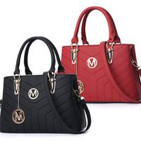 Wholesale plain handbags for sale resale online - Hot Sale Fashion Purse Handbags Women bags Designer Handbags Wallets for Women LeatherBag Crossbody Shoulder Bags New