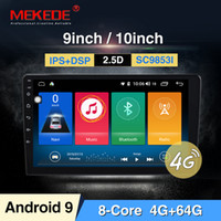 Wholesale gps car radio system resale online - Intel SC9853 Android din Car radio quot inch Android system Auto stereo D Capacitive Screen Bluetooth WIFI GPS car dvd