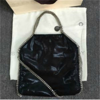 f1dd2077c9 Wholesale stella bags online - stella Mccartney FALABELLA FOLD OVER SHAGGY  DEER TOTE BAGS CHAIN SHOULDER