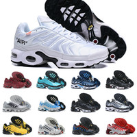 Wholesale sport sneakers sale resale online - Sale New Original Tn Shoes New Designs Fashion Mens Tns Sneakers Breathable Mesh Air Tn Plus Chaussures Requin Sports Trainers Shoes