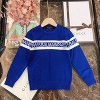 jungen pullover verkauf großhandel-Himmel heißen Verkauf-Jungs-Strickjacke 2019 Herbst-Marke gestrickte Pullover Strickjacke Mädchen-Kind-Kleidung Pullover 0919