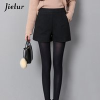 cee82e5e22 Wholesale korean wool skirt for sale - Jielur Autumn Korean Fashion Black  For Women Winter Classic