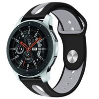 активные часы оптовых-22 мм группа для Samsung Galaxy Watch Active R800 браслет для Huami Amazfit смотреть силиконовые спортивные часы ремешок ремешок 91030