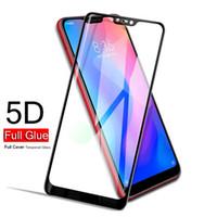 ingrosso apple iphone s2-Proteggi schermo per Xiaomi redmi note6 pro redmi 6 Y2 S2 xiaomi poco f1 8 5D film in vetro temperato curvo