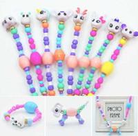 bracelets élastiques achat en gros de-Nouveau Chaud Twisty Pet Bracelet DIY Bracelet Magique Animal Twisty Créatif Élasticité Bracelet Magical Animaux Pour Enfants