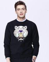 fallmantel trends großhandel-2019 neue lässige Herbst / Frühling Stil Rundhals Hoodie locker beliebte Logo Mantel Trend hübscher Jacke Hipster