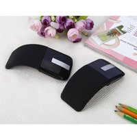 Wholesale folding laptop resale online - Folding Mouse For Microsoft Arc Touch Generation Mouse Foldable For Arc Touch Wireless Optical Mice Laptop T191210