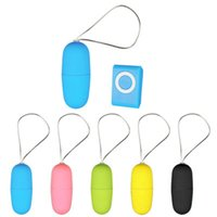 Wholesale toys mp3 resale online - Waterproof Portable Wireless MP3 Vibrators Remote Control Women Vibrating Egg Body Massager Sex Toys Adult Products for women color