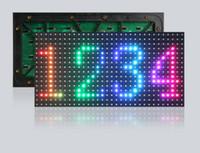 açılı modül toptan satış-Ücretsiz kargo su geçirmez P8 (320 * 160mm) SMD3535 ile geniş görüş açısı açık Tam Renkli Led ekran Modülü
