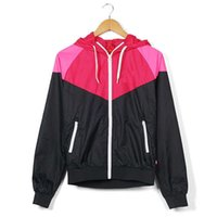 Wholesale jackets women for sale - Group buy Autumn Summer Jacket Clothing Patchwork New Designer Outerwear Windbreaker Women Long Sleeve Sports Coats Jackets S XL