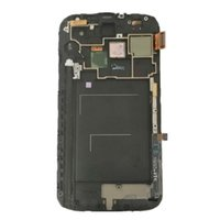 ingrosso digitalizzatore nota samsung-Super AMOLED Per Samsung GALAXY Note 2 N7100 N7105 LCD Con cornice Display + Touch Screen Digitizer Assembly + Strumenti
