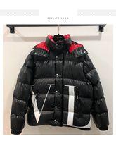 kadınlar için lüks kış ceketleri toptan satış-2018 Kış Yeni Erkek Tasarımcı Ceketler Yüksek Kaliteli Rahat Lüks Doudoune Erkekler ve Kadınlar Kısa Bölüm Kalın Sıcak Aşağı Ceket Boyutu S-XL
