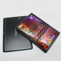 gsm tablette telefone großhandel-Glavey 10,1 '' MTK6582 Android 6.0 Tablet PC 1280 * 800 IPS HD Quad Core 3G GSM WCDMA Telefonanruf PC 16G ROM 1G RAM Metallgehäuse