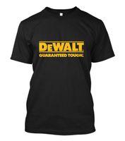 ingrosso magliette di potenza nera-Novità T-shirt nera uomo manica corta logo Dewalt Power Tools Taglie uomo S-5XL stampa personalizzata t-shirt manica corta