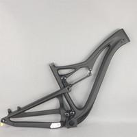 new 27.5er boost 29er boost All Mountain Carbon Bike Frame Full Suspension Carbon Frame carbon mountain bike frame FM356