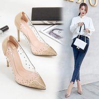 Chic Beautiful 2017 15 cm 6 inch Gold Silver Cocktail Party PU High Heels Stiletto Heels Pumps
