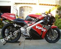 Wholesale fairing 1989 resale online - For Honda VFR400R NC30 VFR R VFR R HRC Red Black Motorcycle Fairing Aftermarket Kit