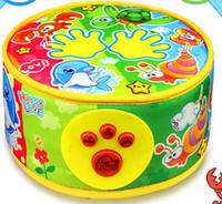 bebek müzik bezi toptan satış-Bebek Müzik Ses Oyuncaklar suzakoo Eletronic el okşama davul bez malzeme dayak oyunu oyuncak bir adet