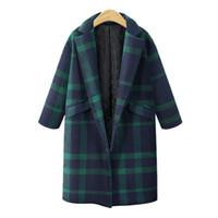 бесплатное дамское пальто оптовых-2018 зимнее платье, новый большой размер женщин платье, толстый мм плед пальто и пальто хлопка