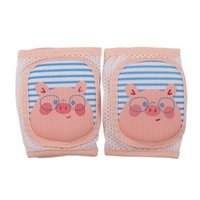 Wholesale toddler elbow pads resale online - Knee Pads Breathable Sponge Toddler Socks Knee Pads Baby Infant Summer Crawling Toddler Anti Fall Anti Slip Elbow