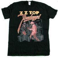 ingrosso importa t-shirt-Maglietta Pre - Cotton per Uomo Maglietta Top Zz - Fandango Cover Camicia Blues Classica Rare Classic Us Import 100%