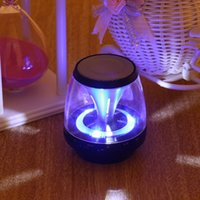Wholesale phone reader for sale - Group buy Wireless Bluetooth Speakers Powered Subwoofer LED Light Support TF Card FM MIC Mini Digital Speaker car hands free calls M28