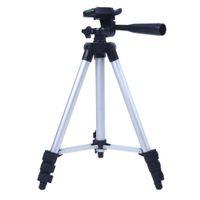 support en aluminium portable achat en gros de-Trépied professionnel pour appareil photo Portable Voyage en aluminium Photographie support de support de caméra pour trépied pour Sony Canon Nikon Camcorder