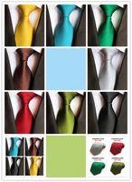 ingrosso legami ad alta densità-Commercianti di forza fornitura diretta cravatta in raso di seta ad alta densità di colore puro 8 cm cravatta moda coreana SC1-8