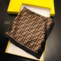 010bd76f1583e Wholesale silk square scarves for sale - Group buy F Letter Square Silk  Scarf CM Classic
