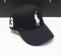 Wholesale hat beret skull cap resale online - Designer Dad polo Hats Baseball Cap For Men And Women Famous Cotton Adjustable Skull Sport Golf Curved Hat