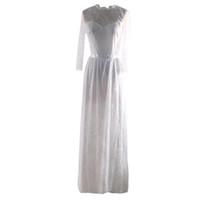 элегантное платье с кружевным шнурком оптовых-Elegant mariage bridal Gowns dress beautiful lace Slim Fit and Flare Soli Lace Dresses vestido robe