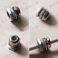 peças led venda por atacado-PG7 conector Metals impermeáveis para Parts impermeável ao ar livre luzes de inundação fio de cabo Pg7 impermeáveis LED do conector de acessórios de iluminação