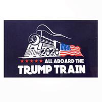 Wholesale train stickers for sale - Creative Trump Car sticker Fashion Donald Stickers Train window Sticker Home Living Room Decor Wall Stickers TTA775