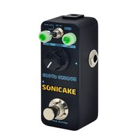 Wholesale guitar sound pedals for sale - Group buy SONICAKE Cloud Chorus Guitar Synthesizer Keyboards Effects Pedal Classic BBD Style Analog Chorus Sound Guitar Patch Cable Included QSS