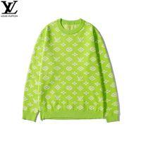 mädchen geometrische pullover groihandel-Frauen Pullover Mädchen Mode Tops Jugend Drucken Kleidung Geometrische Muster beiläufige warme Strickjacke Heiße verkaufende neue Art 2019 Herbst