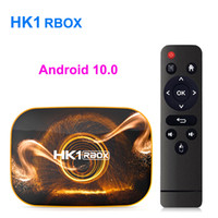 Wholesale rockchip android tv box resale online - HK1 RBOX R1 Android TV Box K Rockchip G GB GB GB16GB G GHz Wifi Bluetooth Smart Media Player