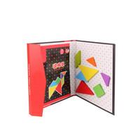 holz magnetischen 3d großhandel-GEEK KING Montessori Baby 3d Magnetic Holzpuzzles Spielzeug für Kinder Puzzle Bord Lernspielzeug versandkostenfrei