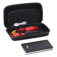 Wholesale car jump start resale online - New Portable mAh Car Jump Starter Pack LED Charger Battery Power Bank Emergency Starting Power Supply Drop Shipping