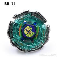 spin meister spielzeug großhandel-Beyblade Metal 4D ohne Launcher BB71 Kreisel Set Rapidly Spinning Fight Masters Toys mit Originalverpackung