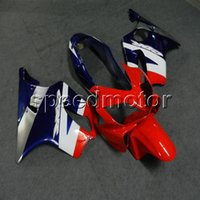 Wholesale Gifts Screws Injection mold red blue white motorcycle Fairing hull for HONDA CBR600F4i motor panels