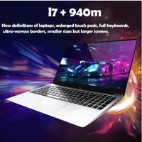 zoll-laptop-fenster großhandel-2G dedizierte Karte Metallgehäuse 15,6 Zoll Intel i7-6500U Laptop 8G RAM 1080P IPS Windows 10 Gaming Notebook für CF GAT5 PUBG