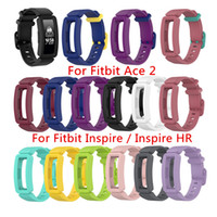 kids fitbit watches 2021 - Silicone Band For Fitbit Ace 2 ACE2 Soft Watch Strap Wrist Band For Fitbit inspire Inspire HR Kids Smartwatch Bracelet Accessories
