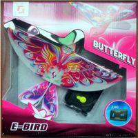 fernvögel großhandel-Elektronisches Spielzeug für Haustiere Flying RC Bird RC Flugzeug 2,4 GHz Fernbedienung E-Bird Flying Birds Elektronisches Spielzeug für Mini-RC-Drohnen Hubschrauber